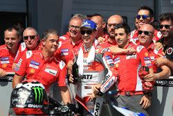 Il terzo qualificato Jorge Lorenzo, Ducati Team