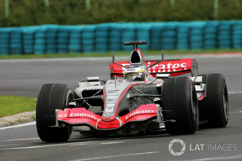 Pedro de la Rosa, McLaren Mercedes MP4-21