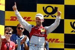 Podium: winnaar René Rast, Audi Sport Team Rosberg, Audi RS 5 DTM