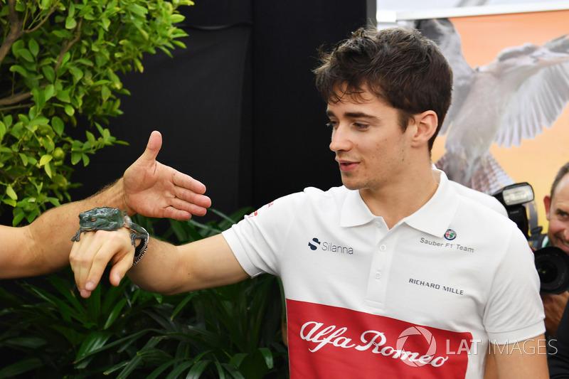 #9 Charles Leclerc, Sauber