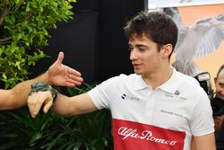 Charles Leclerc, Sauber con un sapo