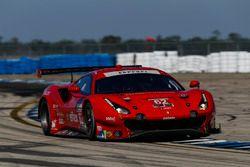 #62 Risi Competizione Ferrari 488 GTE, GTLM: Alessandro Pier Guidi, Toni Vilander, James Calado