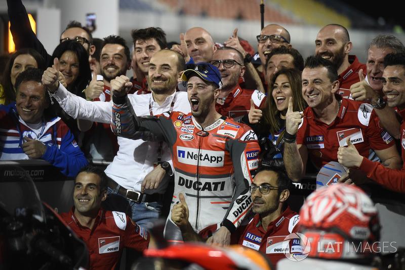 Ganador, Andrea Dovizioso, Ducati Team