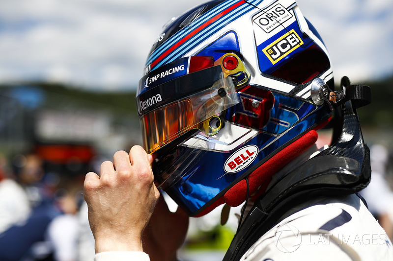 Sergey Sirotkin, Williams Racing, sur la grille