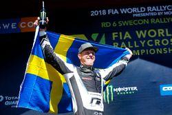Ganador Johan Kristoffersson, Volkswagen Team Sweden