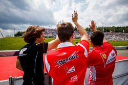Roberto Merhi, MP Motorsport, Louis Deletraz, Charouz Racing System, Antonio Fuoco, Charouz Racing System