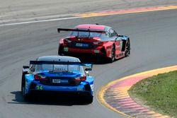 #15 3GT Racing Lexus RCF GT3, GTD: Jack Hawksworth, David Heinemeier Hansson, #14 3GT Racing Lexus RCF GT3, GTD: Dominik Baumann, Kyle Marcelli