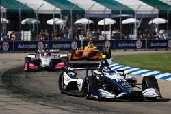 Max Chilton, Carlin Chevrolet, Marco Andretti, Herta - Andretti Autosport Honda, Zach Veach, Andretti Autosport Honda