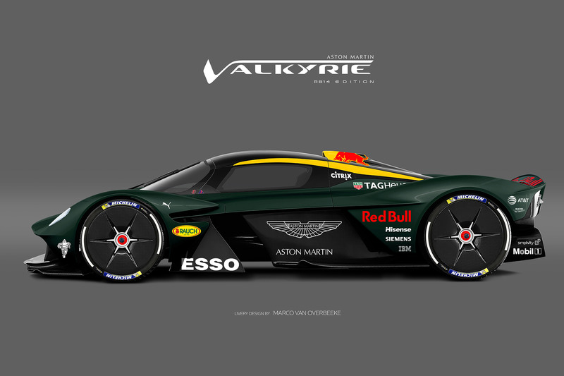Valkyrie Red Bull livery 1