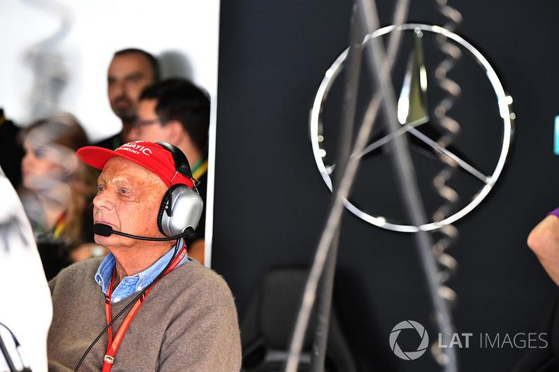 Niki Lauda, presidente non esecutivo Mercedes AMG F1