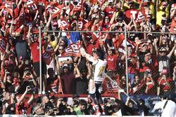Il Campione del Mondo Marc Marquez, Repsol Honda Team festeggiaa