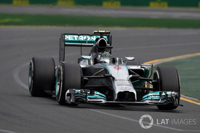 2014: Nico Rosberg, Mercedes F1 W05 Hybrid
