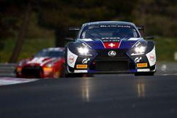 #114 Emil Frey Racing, Lexus RCF GT3: Marco Seefried, Norbert Siedler, Markus Palttala