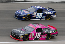 Matt Tifft, Joe Gibbs Racing Toyota, Josh Berry, March Network Toyota Camry