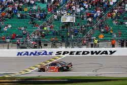 Christopher Bell, Joe Gibbs Racing Toyota takes the checkered flag