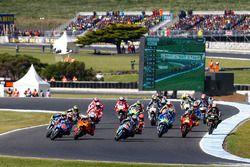 Maverick Viñales, Yamaha Factory Racing, Pol Espargaro, Red Bull KTM Factory Racing,