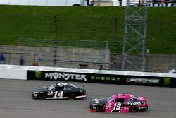 J.J. Yeley, TriStar Motorsports Toyota, Matt Tifft, Joe Gibbs Racing Toyota