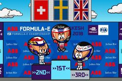 La carrera del ePrix de Marrakech 2017/2018 de Fórmula E, por 'MinEDrivers'