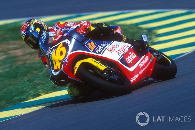 1999 (250cc) - Campeão (9 vitórias), 309 pontos