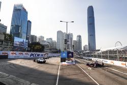 Nicolas Prost, Renault e.Dams, precede Maro Engel, Venturi Formula E