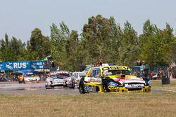 Mauricio Lambiris, Martinez Competicion Ford, Christian Ledesma, Las Toscas Racing Chevrolet, Alan R