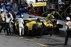 #3 Corvette Racing Chevrolet Corvette C7.R, GTLM: Antonio Garcia, Jan Magnussen pit stop.