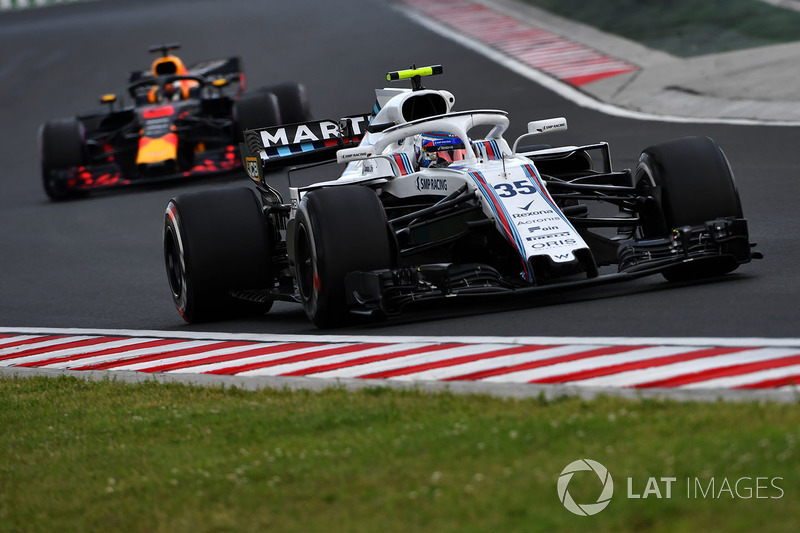 20: Sergey Sirotkin, Williams FW41, 1'19.301