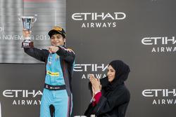 Podium: derde Arjun Maini, Jenzer Motorsport