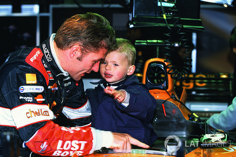 Jos Verstappen, Arrows F1, e Max Verstappen