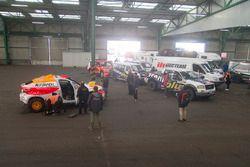 Die Teams bereiten sich in Le Havre auf den langen Weg nach Lima vor.