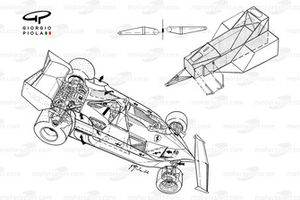 Ferrari 312T2 1977 overview with chassis detail