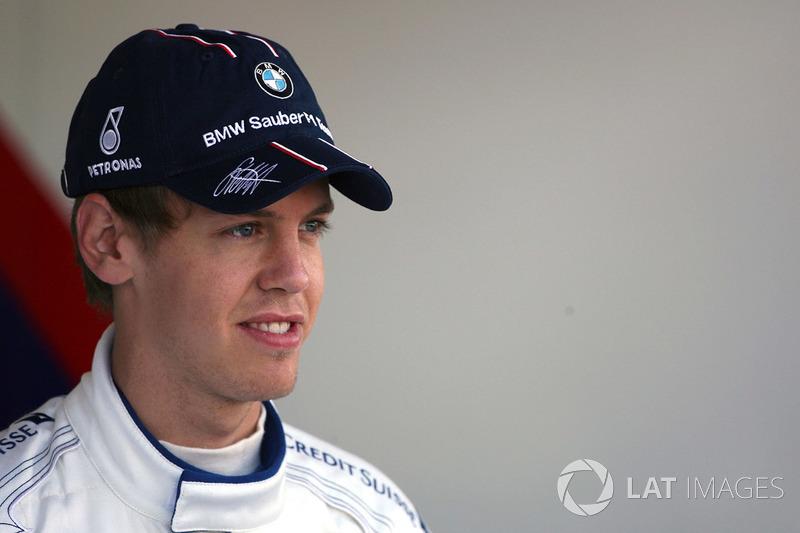 ... fuhren Lewis Hamilton und Sebastian Vettel ihre erste Formel-1-Saison.