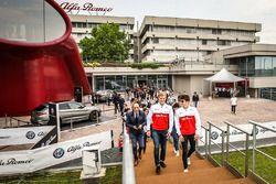 Marcus Ericsson en Charles Leclerc, Sauber