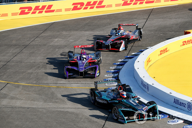 Mitch Evans, Jaguar Racing, Alex Lynn, DS Virgin Racing, Maro Engel, Venturi Formula E Team