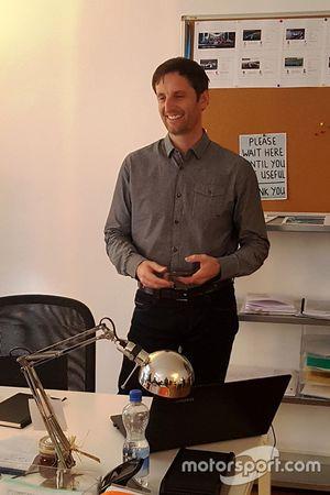 Pascal Derron, CEO de la société Swiss ePrix Operations