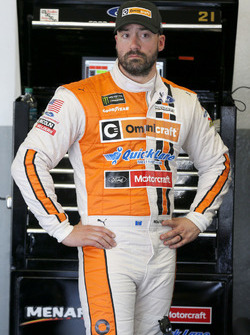 Paul Menard, Wood Brothers Racing, Omnicraft Auto Parts \ Quick Lane Tire & Auto Center Ford Fusion