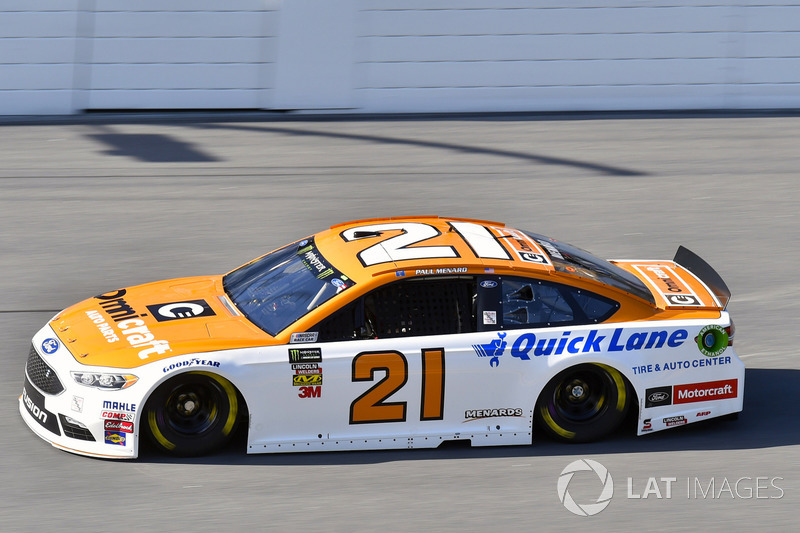 6. Paul Menard, Wood Brothers Racing, Ford