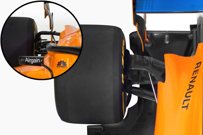McLaren MCL33 teknik