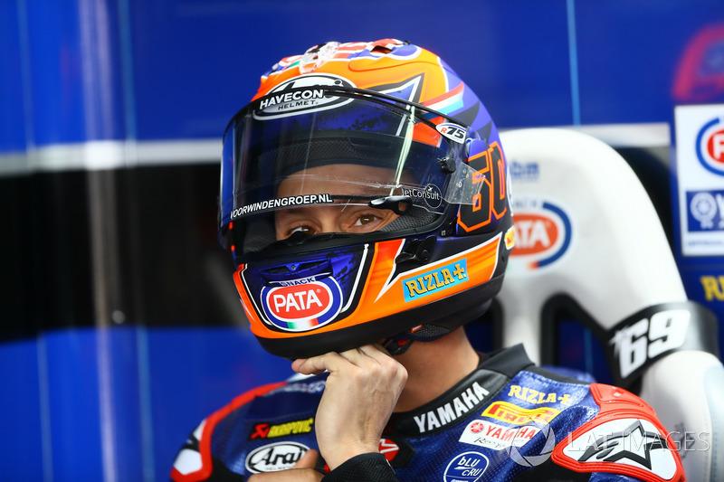 Michael van der Mark, cinquième, Pata Yamaha