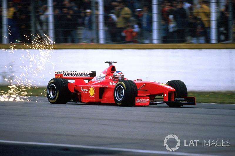1998: Ferrari - 2º lugar, 6 vitórias, 86 pontos, 16 GPs