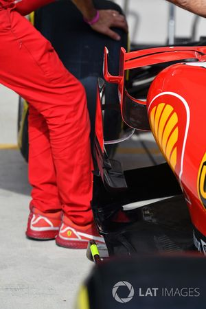 Ferrari SF70H aero detail