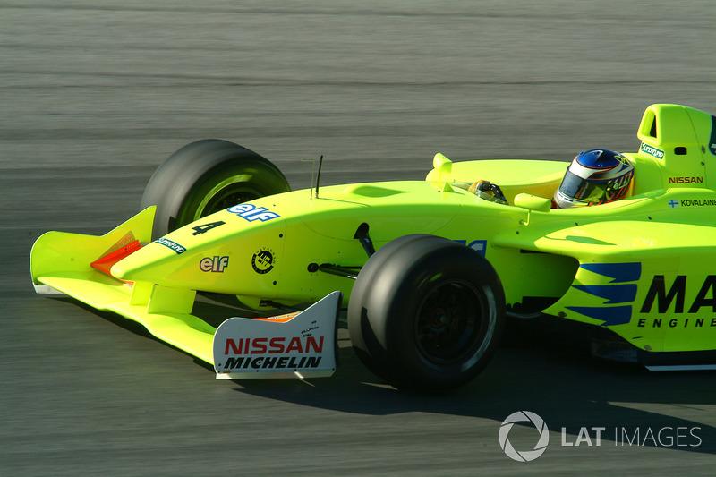 Heikki Kovalainen (2003-2004)
