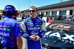 Chris Buescher, JTG Daugherty Racing, Chevrolet Camaro Maxwell House Max, Trent Owens