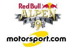 Coopération entre Red Bull Alpenbrevet et Motorsport.com Suisse, logotype