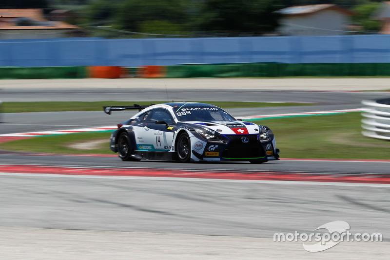 #14 Emil Frey Lexus Racing Lexus RC F GT3: Christian Klien, Albert Costa