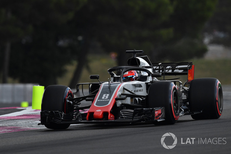 11. Romain Grosjean, Haas F1 Team VF-18