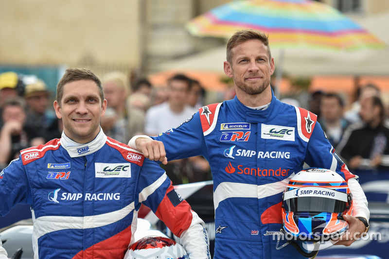 Vitaly Petrov, Jenson Button, SMP Racing