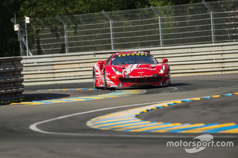 #85 Keating Motorsports Ferrari 488 GTE: Ben Keating, Jeroen Bleekemolen, Luca Stolz