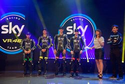 Sky Racing Team VR46 launch atmosphere