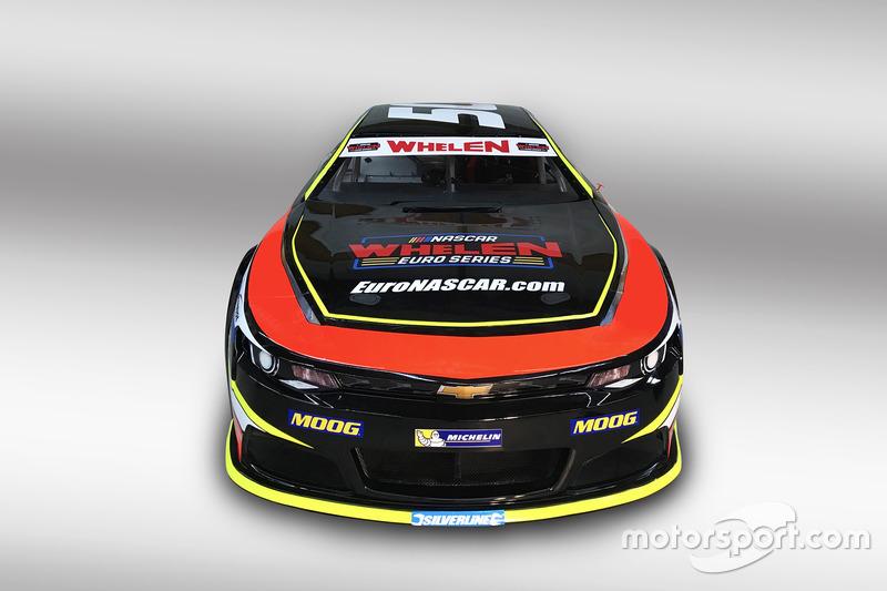 Chevrolet Camaro, NASCAR-Euroserie 2018